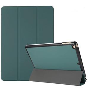 Smart Magnetic Cover PU кожи с дизайнером мягкой подставкой задний чехол Автоматический пробуждение для iPad Air 2 Mini2 3 4 Pro 9.7 10.2 10.5 iPad 2017 2018