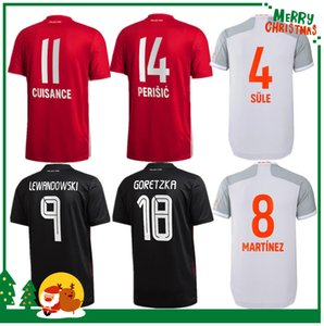 20 21 21 Coutinho Bayern Vidal Lewandowski Muller Robben Sule Munich Sane Home Soccer Jerseys 2020 Adulti Men + Kid Kit Camicia da calcio sportiva