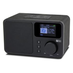 راديو الإنترنت واي فاي، المحمولة مع بطارية قابلة للشحن جهاز استقبال بلوتوث مع دعم عرض اللون UPNP و DLNA