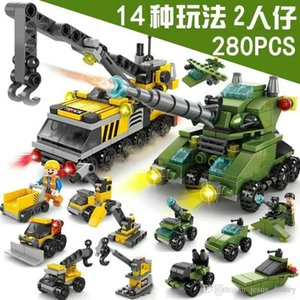 Compatible with Phantom Ninja building blocks military boy assembling children's toys matching small particle special police car
