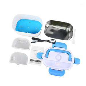 Carro duplo camada aquecida lancheira portátil aquecimento elétrico caixa de armazenamento aquecido almoço elétrico para ferramenta de cozinha1