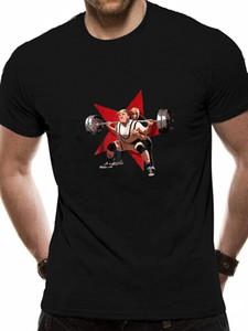 Declaração engraçado Anti Trump Squat Como Putin Political gráfico de Moda de Nova Marca Imprimir Masculino Marca livre camiseta 1117