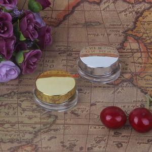 5g Pequenas jóias strass grânulos vazio frasco, sombra cosmético rosto creme recipiente frascos recarregáveis unhas ferramentas f20171451good qualtitygoo