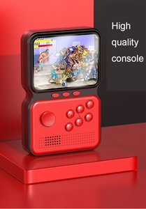 16-bit handheld game console Portable 5 modules 900 classic games Ultra-clear LCD display with TV output