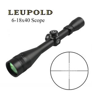 Leupold 6-18x40 Mil Dot Reticle Taktische Zielfernrohre Jagd Scopes Long Range Airsoft Rifle Scope Sniper Sehenswürdigkeit
