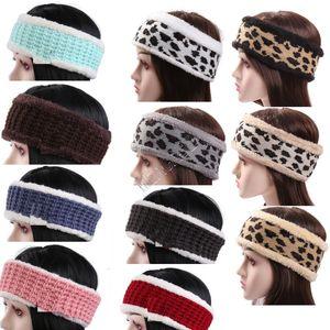 Women's Designers Leopard Letters Printed Headbands Fashion Casual Sports Hairlace Colorful Trendy Girls Headwear Headwrap Favor D121002