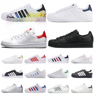 adidas stan smith classique femmes hommes chaussures décontractées chaussures superstar baskets triple superstars blanches concepteurs noirs baskets en cuir or sport