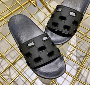 2019 erkek kadınlar slayt sandalet ayakkabı moda slayt yaz moda geniş düz sandalet ile düz kaygan terlik flip flop