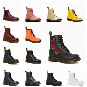 Martin Boots Мужская высокая верхняя женская обувь зимняя плюша средняя верхняя часть британских ветровых рабочих ботинок кожаных ботинок K88X #