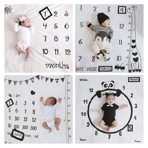 Designer Blankets Photography Blankets Full Moon Hundred Days Baby Photo Background Cloth Creative Month Photography Props Blanket XD24243
