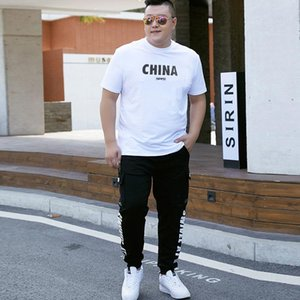 Summer Oversize Casual Mens 2 Pieces Tracksuit Male Plus Size 9XL Short-Sleeved T-shirt +Pant Sets Men China Gym Jogger Suit