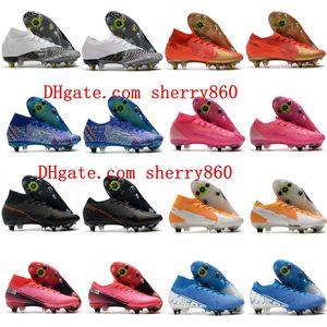 2020 Herren Fußballschuhe Mercurial Superfly 7 Vaporx 13 Elite SG-Pro AC Soccer Cleats Crampons de Football Boots Neymar Ronaldo