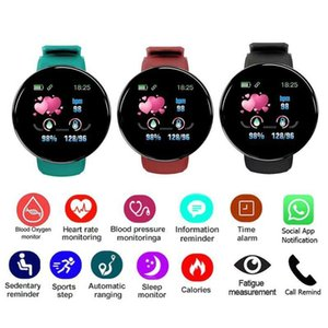 2020 New Color Screen Smart Bracelet Heart Rate Blood Pressure Caller Information Waterproof Step Counter Sports Bracelet For IOS Android