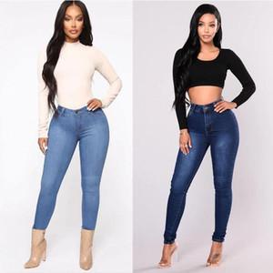Pencil Pants Women Jeans Plus Size Casual high waist summer Autumn Pant Slim Skinny Stretch Denim Trousers Pants