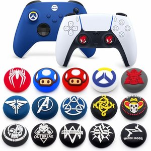 Silicone Thumb Stick Grip Cap Thumbstick Joystick Cover Case For PS5 Dualshock 5 4 3 PS5 PS4 PS3 Xbox 360 Switch Pro Controller