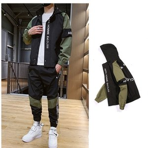 Mens Designer Tracksuits With Fashion Letter Embroidery Street Sports Styles 2pcs Sets Spring Autumn Casual Clothes TSMP