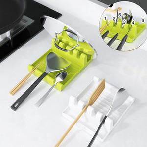 Plastic Spoon Holder Cucchiaio da cucina Cucchiaio da cucina Shovel Pot Cover Tableware Storage Rack Multifunzionale Casella di immagazzinaggio da cucina DWF4843