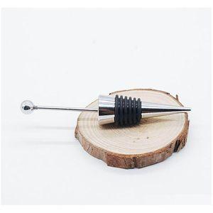 Fancy Gadget Add A Bead Jewelry Rhinestone Lampwork Decorative Beaded Wine Bottle Stopper Zinc Alloy Silver Diy jllFFg eatout