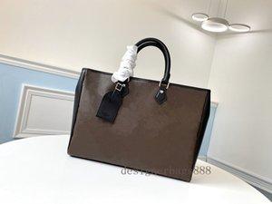2021 Designers de moda M55203 Real Crossbody Bags Luxurys Bolsa de couro Bolsa de ombro sacos de bolsa bolsa bolsa carteiras Messenger Wome Gljb