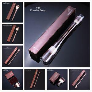 Pincéis de maquiagem de ampulheta No.1 2 3 4 5 7 8 9 10 11 Veículo Veil Ambiente Dupla Foundation Foundation Cosmetics Brush Tool