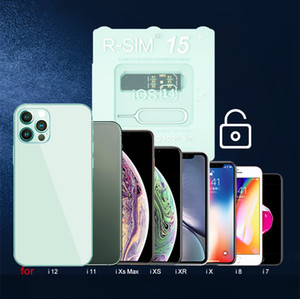 Neueste RSIM15 PLUS FÜR IOS 14 UNLOCK CARD R SIM 15 RSIM R-SIM15 Unlocking Card iOS7 13 Dual CPU Aktualisierte automatische Entriegelung für iPhone Universal