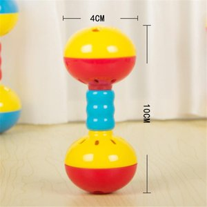Muñeca multifuncional Muñeca Doble cabeza Bell Toy Toy Stick Stick BB Stick Mirror Mano Material de plástico SQCTGT PINGTOY