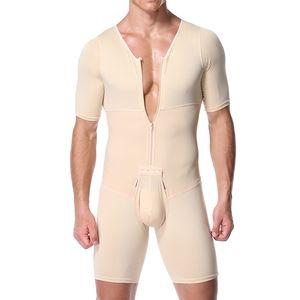 Shapers Sexy Mens Body Shaping Control Slim Corsetto ShapetAre Body Body Shaper Body PantsWaist Cincher Cincher Controllo della pancia Dimagrante Y200706