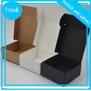 3 Size Small Kraft Paper Carton Boxes for Gift Wedding Favor Packaging Soap Baking akes Cookies Chocolate Packing Box