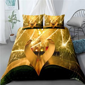 Love Romantic Duvet Cover Sets,Couples Wedding Room Bedding Sets,Microfiber Bed Cover Pillowcase,Bedroom Decor Home Bed Sets