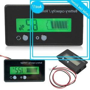6-70 فولت LCD، فهرس سعة بطارية ليثيوم، الفولتميتر، مراقب شاشة الكابل البصري