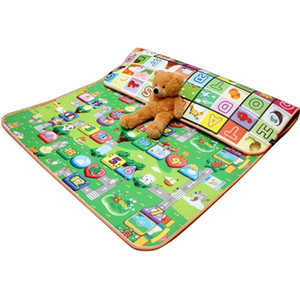 for Children Play 0.5cm Thick Crawling Mat Double Surface Baby Carpet Rug Animal Developing Game Pad Q1121