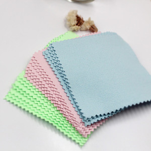 200pcs Cleaning Polishing Cloth Limited Real 925 Silver Sterling Jewelry Cleaner Anti-tarnish Suede Maintenance 8*8cm