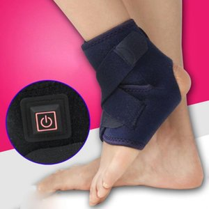 Electric Heating Bandage Strap Protect Foot Muscle Membrane Inflammation Winter Keep Warm Ankle Support Brace Protector
