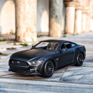 Coche 1:18 Juguetes Ford Maisto GT Vehículos de Deportes Modelo Mustang Mustang Cast Collectible Estado estático Die 2015 Asapn