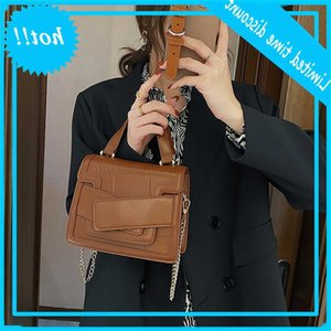 2021 new fashion portable one shoulder cross small square texture women's Bag
