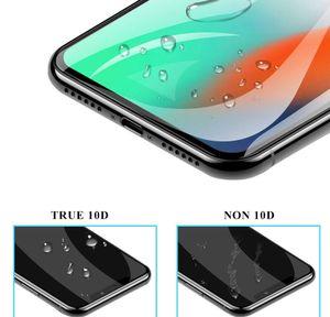 10D 곡선 안티 폭발 HD 풀 커버 아이폰 11 Pro x XR XS Max 7 8 Plus Prot Jllazo Qpseller 용 강화 유리 화면 보호기