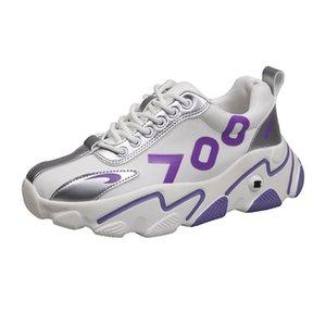 Jinjin-52-BLWBYL Moda Damska Buty Kolor Casual Sports Sneakers Kobiecy Trend Casual Kobiety Buty Wulkanizowane Wygodne Siatkowe LJ201019