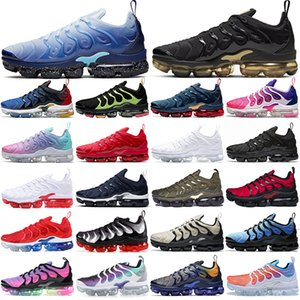 vapormax tn plus vapors vapor max vaporfly fly knit max TN plus chaussures de course en plein air hommes femmes formateurs tns hommes femmes baskets de sport surdimensionnées 36-47