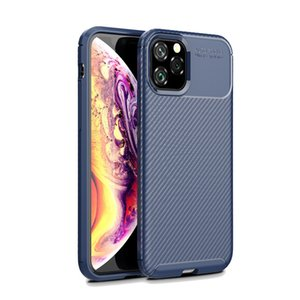 Wholesale Price Silicone Phone Cases For iPhone XS 12 Pro MAX Carbon Fiber All-inclusive Mobile Cover
