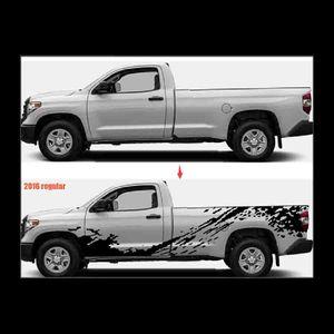 Off road classic mud print Full body pickup decal vinyl graphics sticker fit forPickup trucks