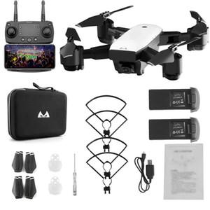 SMRC S20 Polleable 6 axes GYRO FPV HD 1080P RC Quadcoptère avec 360 Flips Caméra à angle large 1080p Altitude Tenir Double batteries