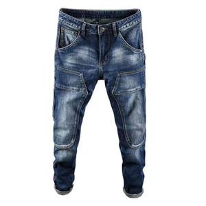 2020 Fashion Mens Stylist Jeans Mens High Quality Zipper Jeans Casual Trousers Mens Stylist Slim Biker Denim Pants Designer Jeans