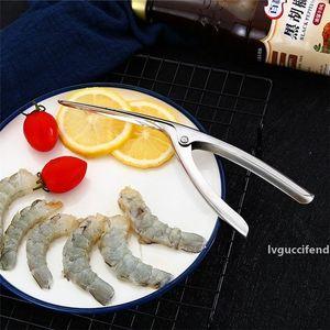 Multi funzionale in acciaio inox gamberetti peeler peeler peeler seafood aragosta shell rimozione strumenti da cucina di alta qualità