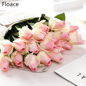 Floace 15pcs lot Rose flowers bouquet Royal Rose upscale artificial flowers silk rose flowers home wedding decoration Z1120