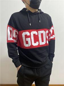 Hot Brand Parejas Vestido GCCS Banda Hoodie 02 Hombres negros Mujeres Otoño e invierno Fleece Pullover Envío gratis