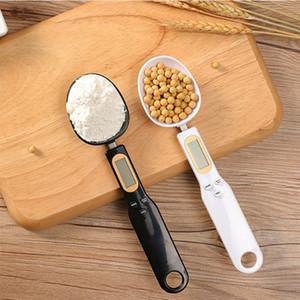 500 جرام / 0.1 جرام قياس ملعقة المنزلية المطبخ الرقمية مقياس الالكترونية المحمولة غرام مقياس شاشة LCD الخبز مقياس FFF4457