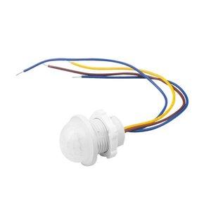 Automation Motion Motion Smart LED 110V 220V PIR Инфракрасный датчик движения Переключатель AUTO на выключенном выключателе Света Детектор датчика PIR