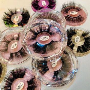 New 3D Mink Eyelashes Eyelash 3D Eye makeup Mink False lashes Soft Natural Thick Fake Eyelashes Lashes Extension Beauty 20 styles 25mm