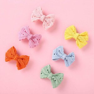 2021 new 2.8inch hair bows girls hair clips fashion princess girls barrettes cute baby BB clips designer hair accessories