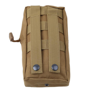 Outdoor MOLLE Bag Waterproof Tactical Waist Bag Pack Camping Hiking Utility Pouch Keys Phone Holder Backpack Attached
